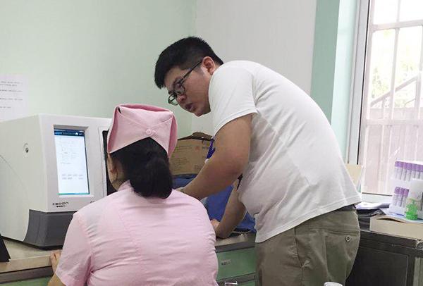 六安市人民医院采购我公司SD-7母乳分析仪